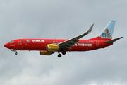 Boeing 737-8K5 (D-AHFZ)
