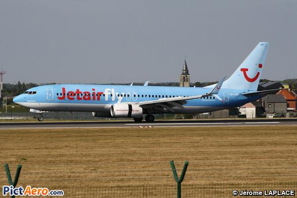 Boeing 737-8K5/WL (Jetairfly)