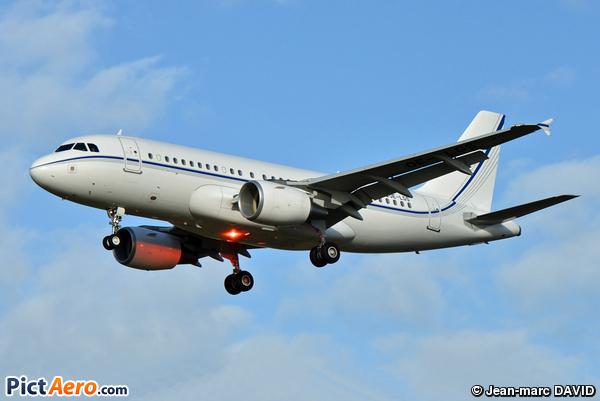 Airbus A319-115X/CJ (K5 Aviation)