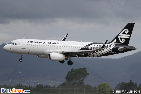 Airbus A320-232(WL) (Air New Zealand)