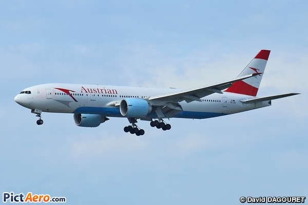 Boeing 777-2Q8/ER (Austrian Airlines)