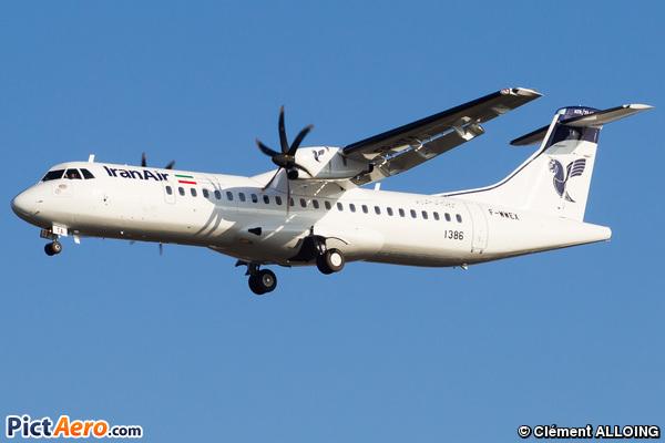 ATR72-600 (ATR72-212A) (Iran Air)