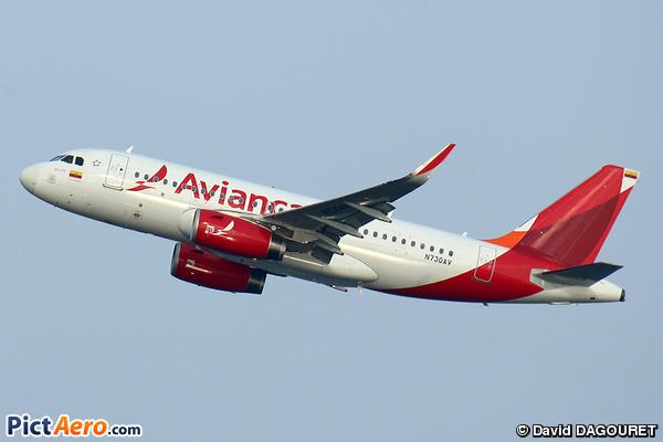 Airbus A319-132/WL (Avianca)