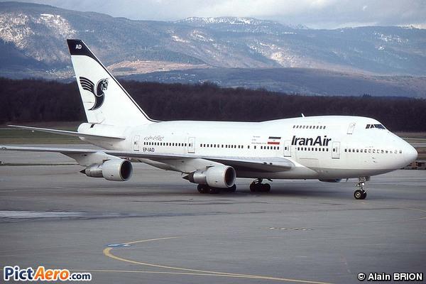 Boeing 747SP-86 (Iran Air)