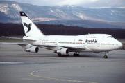 Boeing 747SP-86 (EP-IAD)