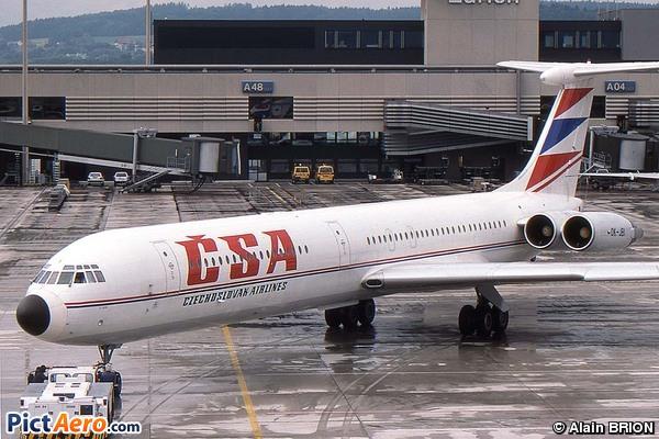 Iliouchine Il-62M (CSA Ceskoslovenske Aerolinie)