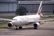 Airbus A300B4-605R (A6-EKM)