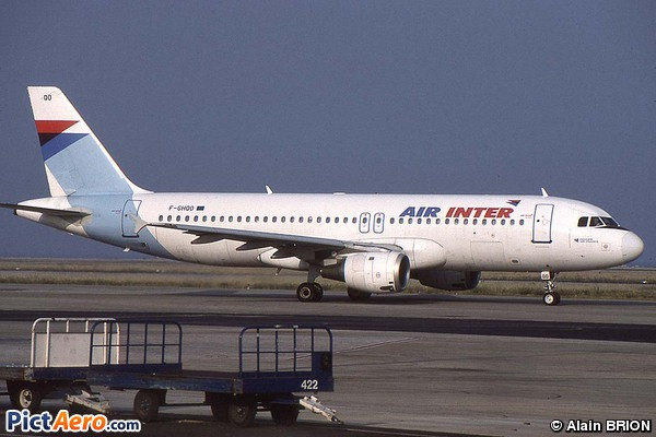 Airbus A320-211 (Air Inter)