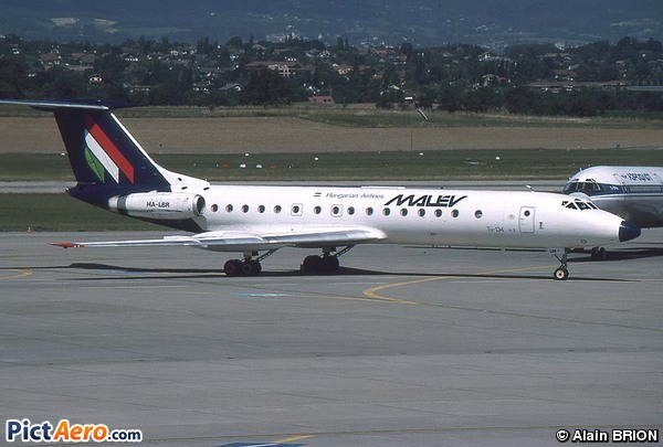 Tupolev Tu-134A-3 (Malév Hungarian Airlines)