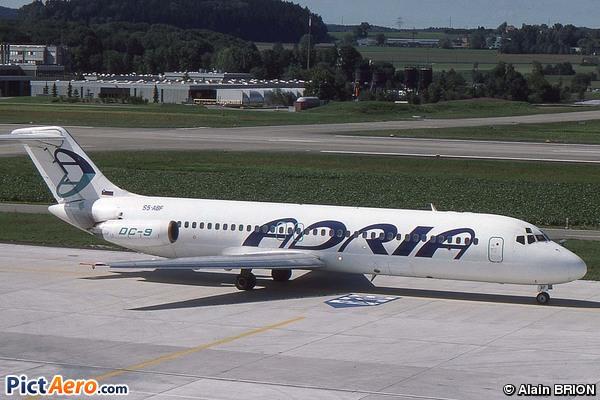 Dougals DC-9-32 (Adria Airways)