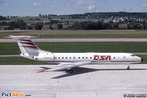 Tupolev Tu-134A (CSA Ceskoslovenske Aerolinie)