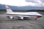 Boeing 747SP-27 (A4O-SP)