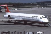 McDonnell Douglas MD-83 (DC-9-83) (HB-ISX)
