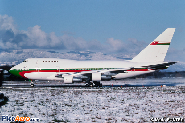 Boeing 747SP-27 (Oman - Royal Flight)