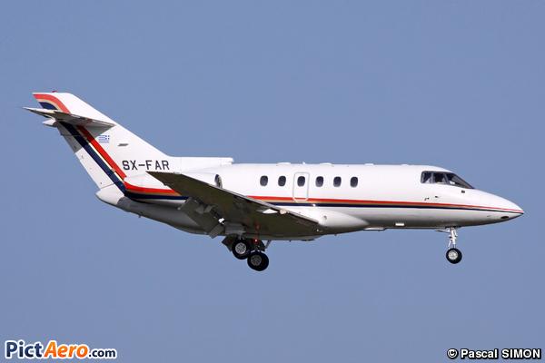 Raytheon Hawker 800XP (First Airways)