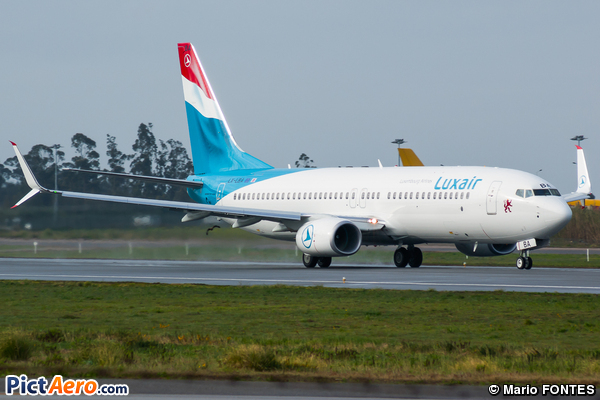 Boeing 737-8C9/WL (Luxair - Luxembourg Airlines)