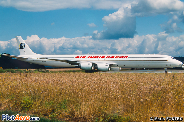 Douglas DC-8-73F (Air India Cargo)