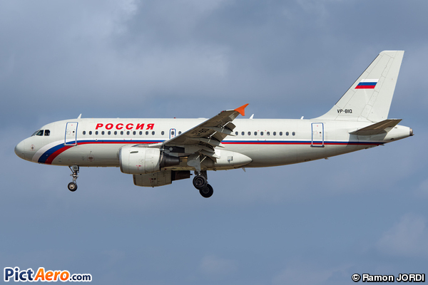 Airbus A319-111 (Rossiya Russian Airlines)