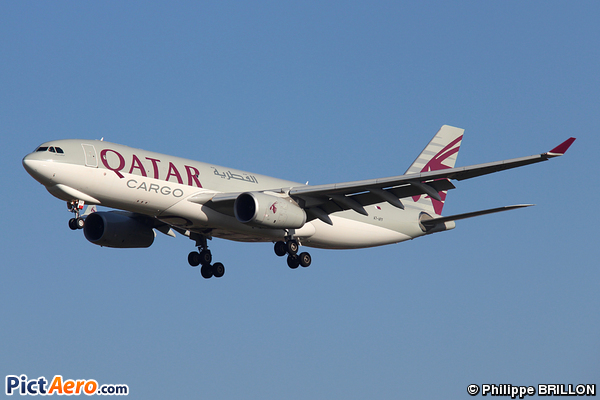 Airbus A330-243F (Qatar Airways Cargo)