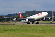 Airbus A340-313X (HB-JMK)