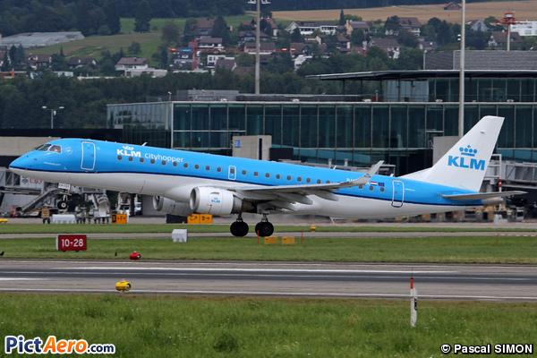 Embraer ERJ-190IGW (ERJ-190-100IGW) (KLM Cityhopper)
