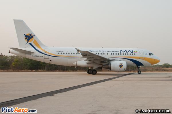 Airbus A319-112 (Myanmar Airways International (MAI))