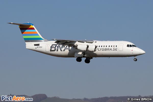 BAe 146-RJ100 (BRA Braathens Regional Airlines)