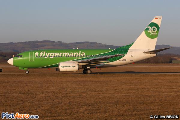 Boeing 737-75B (Germania)