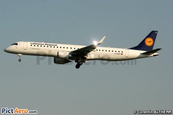 Embraer ERJ-195LR (ERJ-190-200LR) (Lufthansa CityLine)