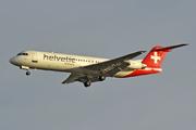 Fokker 100 (F-28-0100) (HB-JVE)