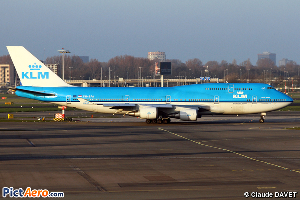 Boeing 747-406 (KLM Royal Dutch Airlines)