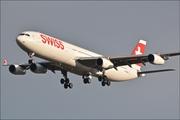 Airbus A340-313X (HB-JMD)