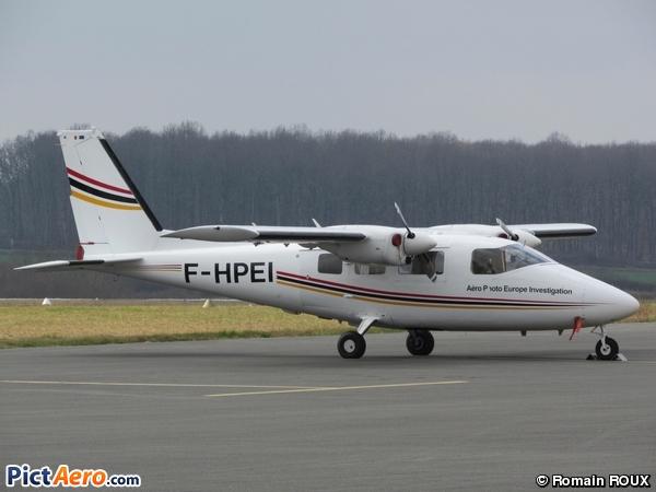 Partenavia P-68C (AERO PHOTO EUROPE INVESTIGATION / APEI)