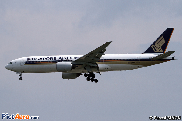 Boeing 777-212/ER (Singapore Airlines)