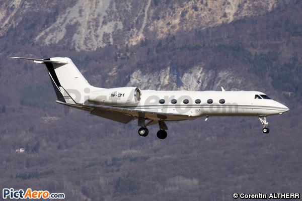 Gulfstream Aerospace G-IV X (G450) (Jet Aviation Business Jets AG)
