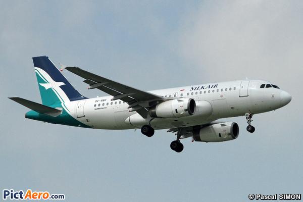 Airbus A319-133 (SilkAir)