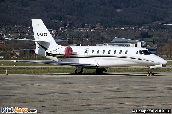 Cessna 680 Citation Sovereign (Privé)