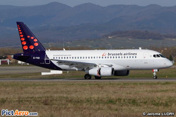 Superjet 100-95B (Brussels Airlines)