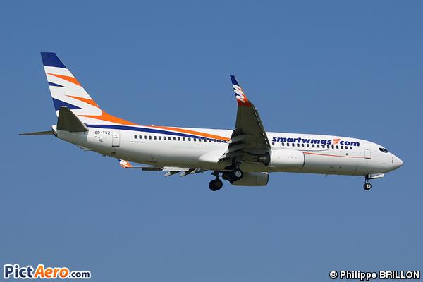 Boeing 737-8BK (Travel Service Poland)
