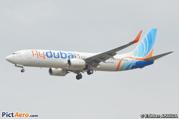 Boeing 737-8KN/WL (FlyDubai)