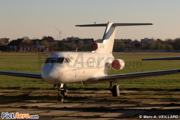 Yakovlev Yak-40 (Aero Charter Ukraine)