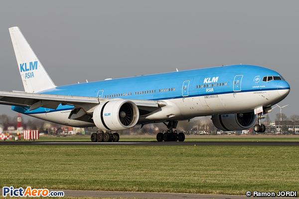 Boeing 777-206/ER (KLM Royal Dutch Airlines)