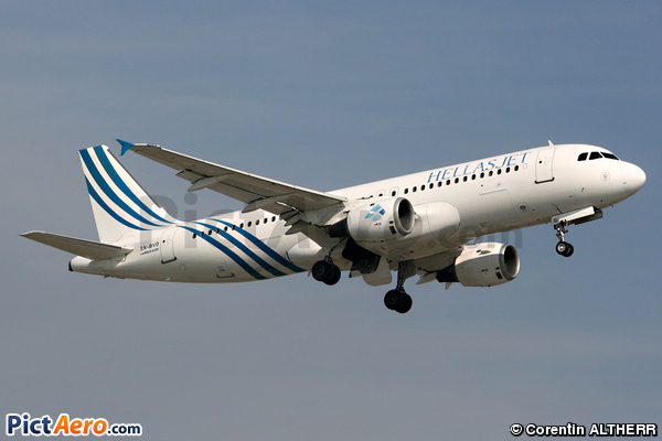 Airbus A320-211 (Hellas Jet)