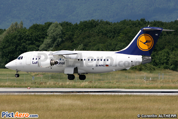 British Aerospace Avro RJ-85 (Lufthansa CityLine)