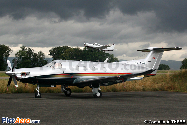Pilatus PC-12/47 (Untitled)