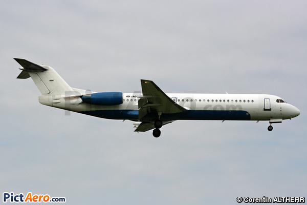 Fokker 100 (F-28-0100) (Montenegro Airlines)