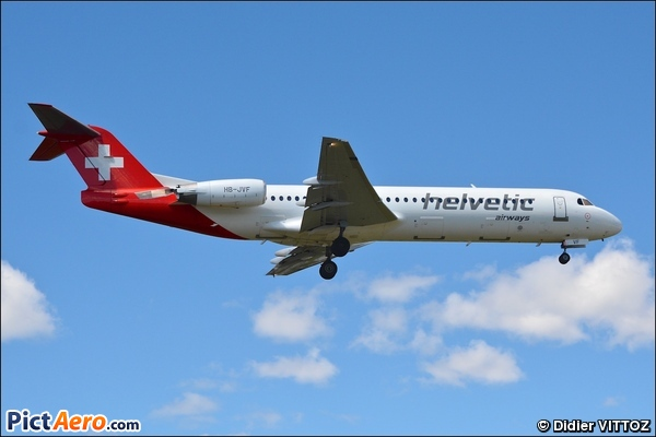 Fokker 100 (F-28-0100) (Helvetic Airways)