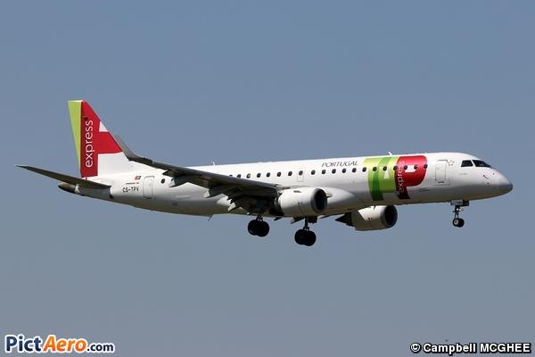 Embraer ERJ-190LR (ERJ-190-100LR) (TAP Express)