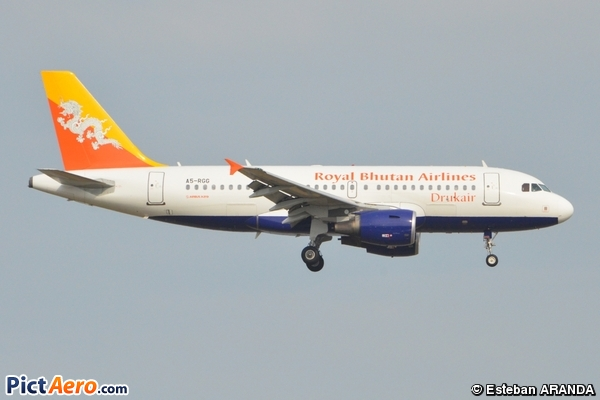 Airbus A319-115/LR (Druk Air)