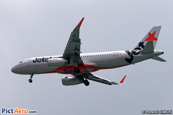 Airbus A320-232(WL) (Jetstar Asia Airways)